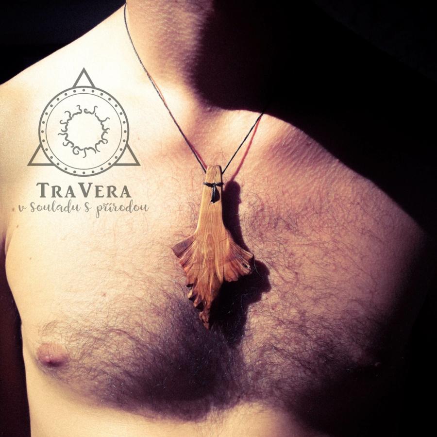 dřevěný šperk, šperk, přívěsek, dřevo, dárek pro muže